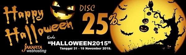 Halloween Jakarta Webhosting +