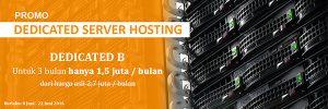 Performa website dengan Dedicated Server Jakartawebhosting