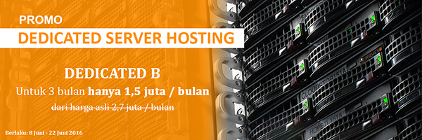 Promo Dedicated Server Jakartawebhosting