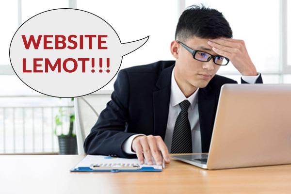 Website Anda Lemot Wajib Baca Ini Sampai Habis!