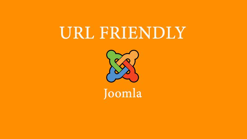 URL yang SEO friendly untuk Joomla